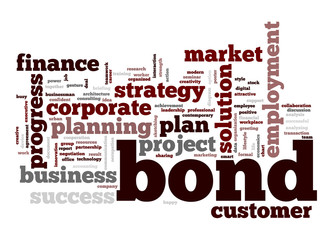 Bond word cloud