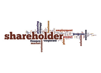 Shareholder word cloud