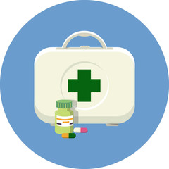 Vector First Aid - Medical Kit