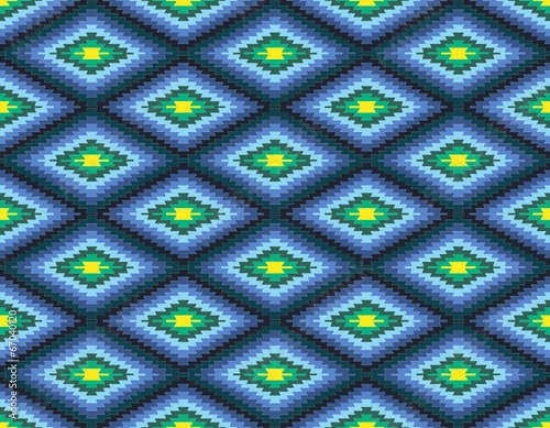 Vektor Teppich Muster Nahtlos