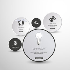 Business Website Template / Infographics