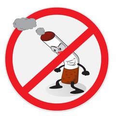 Funny no smoking sign