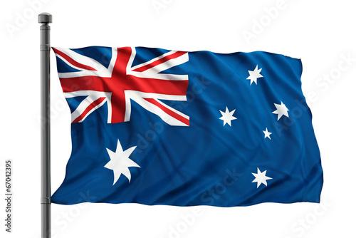 Poster Oceanië Australian flag
