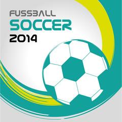 Fußball Fussball WM EM Sport Soccer Banner Flyer