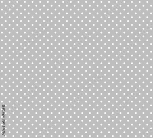 canvas print picture Hintergrund - Weiße Pünktchen auf grau