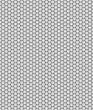 canvas print picture - Hintergrund: Wabenmuster hellgrau schwarz