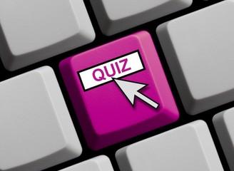 Tastatur violett: Quiz