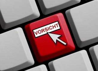 Tastatur rot: Vorsicht online