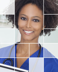 Medical Woman Doctor Nurse Hospital Portrait
