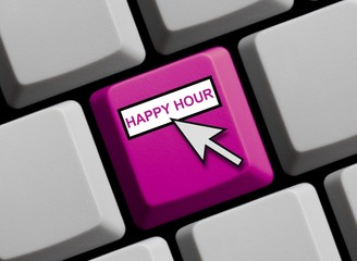 Tastatur violett: Happy Hour