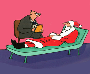 Even Santa Goes to the Psychiatrist