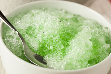 Refreshing Homemade Shaved Ice