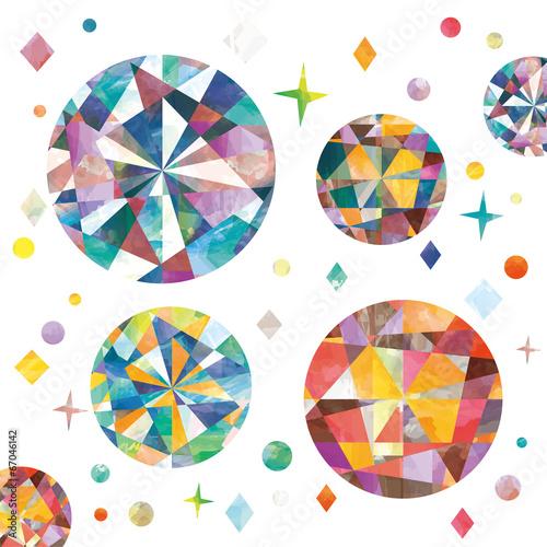 カラフルな宝石 - 67046142