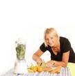 canvas print picture - Gesunde Ernährung mit Obst