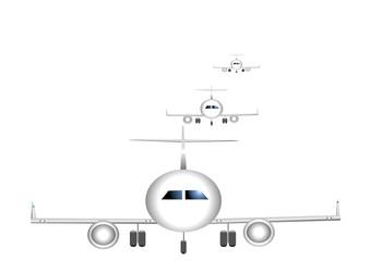 avions atterrissage