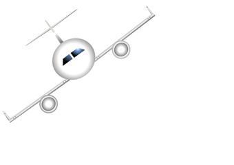 avion virage à droite