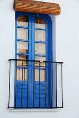 Balcón en Frigiliana