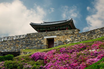 Gongsanseong Fortress in Gongju city, South Korea