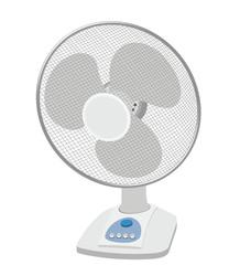 Ventilatore da tavolo - calura estivva