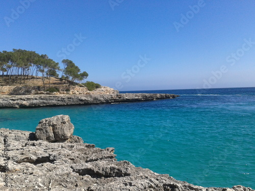 canvas print picture mallorca