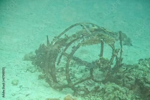 b52 cabin underwater