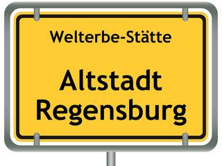 Welterbe-Stätte Altstadt Regensburg