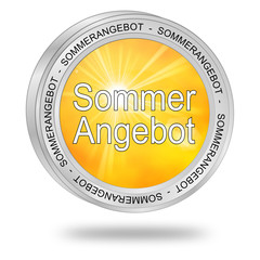 Sommerangebot Button
