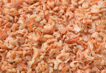 dried shrimp background