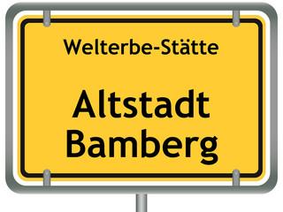 Welterbe-Stätte Altstadt Bamberg