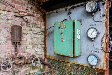 Manometer Luftdruckmesser DDR Industrie
