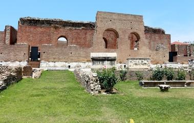 Ancient Roman Odeon in Patras, Greece