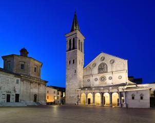 Piazza del Duomo, Spoleto