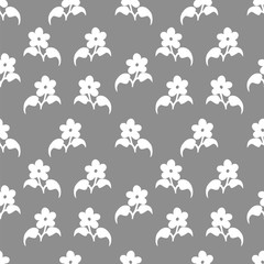 Seamless pattern with flovers