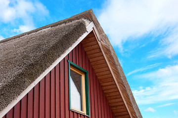 Roof of a house