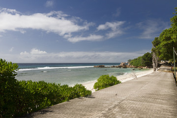 Strand mit Strasse 3