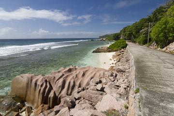 Strand mit Strasse 2