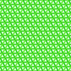 Green triangular background - vector seamless pattern with trian