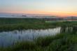 Landscape of morning sunrise