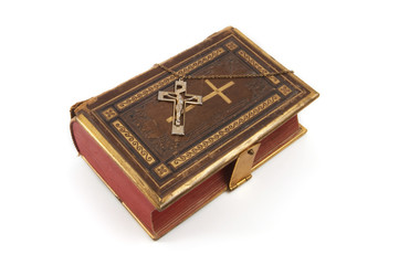 Cross on Religious Book