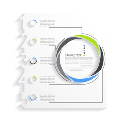 Vector illustration of business infographics