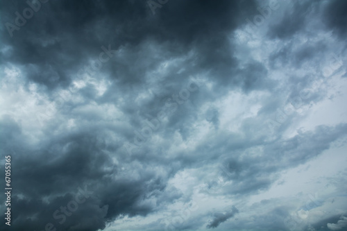 Dark clouds horrifying - 67055365