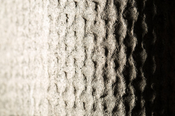 abstract background of a concrete wall. light and shadow