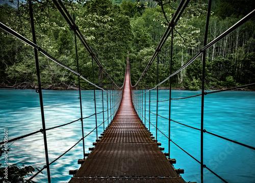suspension bridge - 67056501