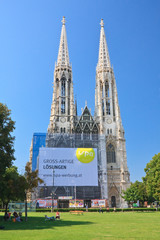 Votive Temple (Votive Churchis) in Vienna, Austria
