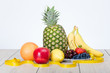 Composition of beautiful, delicious, fruit