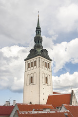 Church St. Nicholas in Tallinn, Estonia