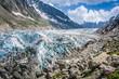 Argentiere Glacier view, Chamonix, Mont Blanc Massif, Alps, Fran