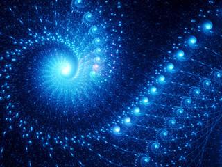 Spiral fantasy in space