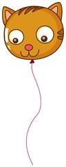 A big cat balloon