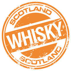 scotch whisky rubber stamp
